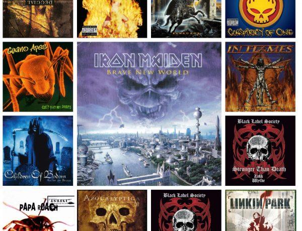 20 альбомов, вышедших 20 лет назад 2000