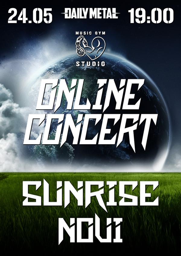 Онлайн-концерт Sunrise та NOVI